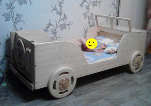 Как я кровать для сына запилил!