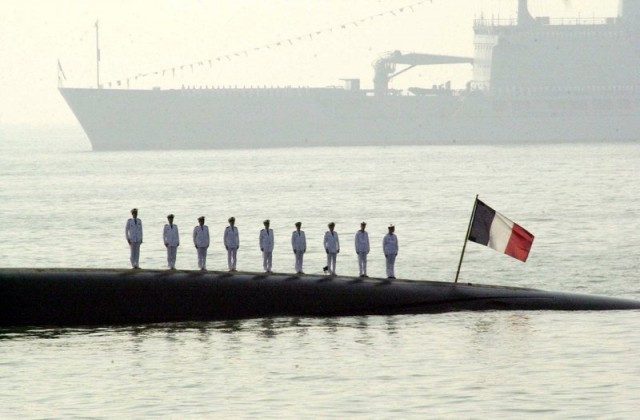 Во Франции произошел взрыв на атомной подводной лодке