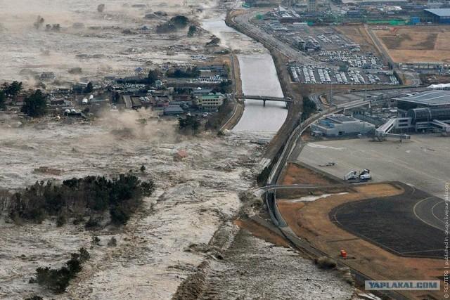 Аэропорт Сендай: год после цунами
