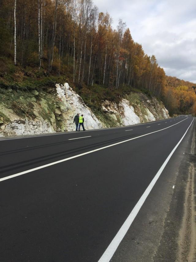 """Трасса Р-258 """"Байкал"""" в Бурятии после ремонта"""