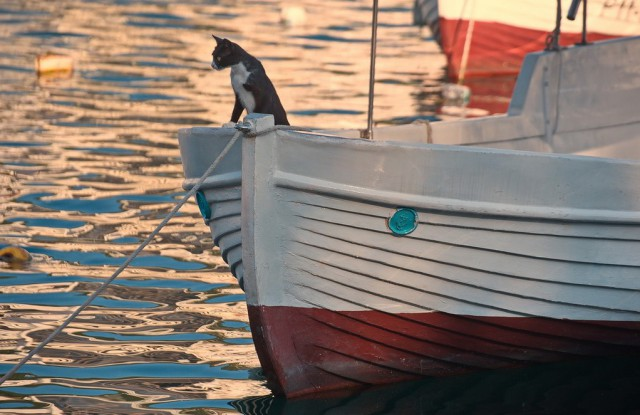 крым балаклава лодки