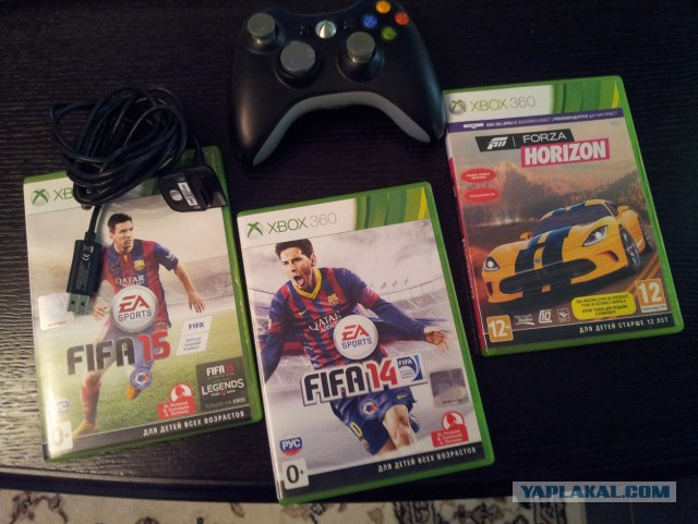 Для Xbox 360 джойстик + игры обмен или продажа