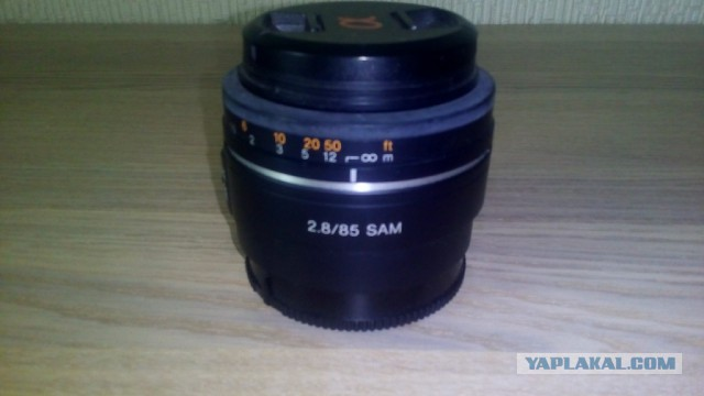 Продам объектив Sony 85mm f/2.8 SAM (SAL-85F28) 4.5