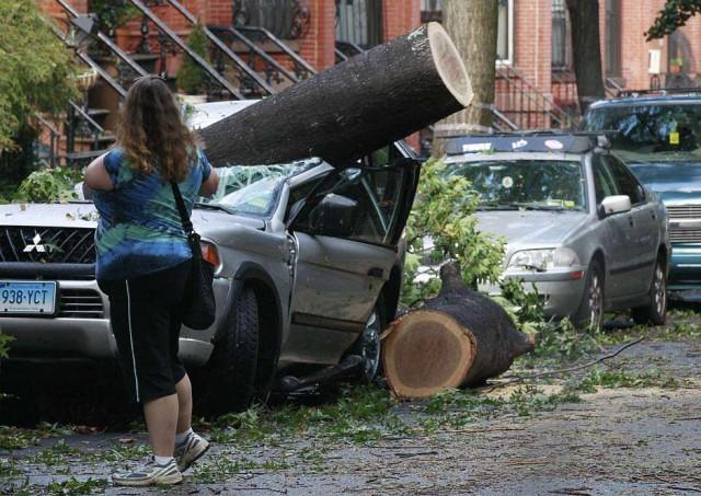 Торнадо в Нью-Йорке