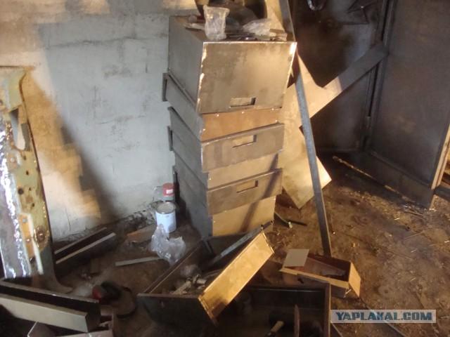 Делаем шкаф в гараж