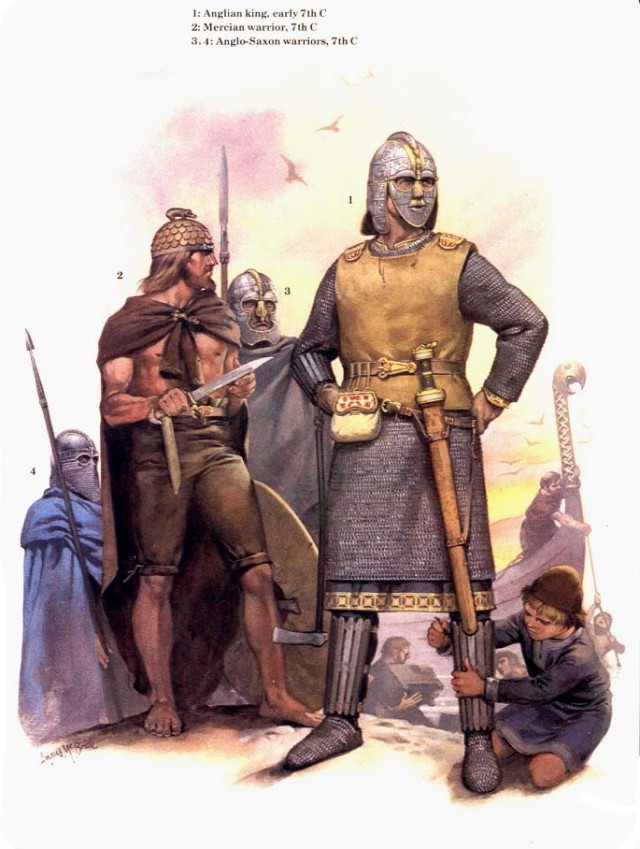 Легендарные шлемы тёмных веков