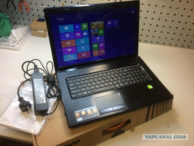 МЛщный ноутбук Lenovo