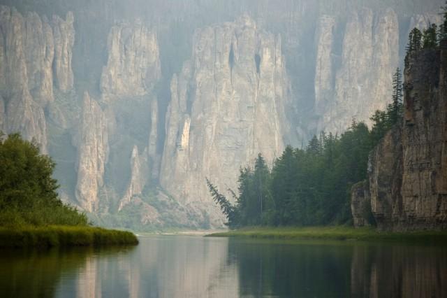 Якутия - Замки реки Синей