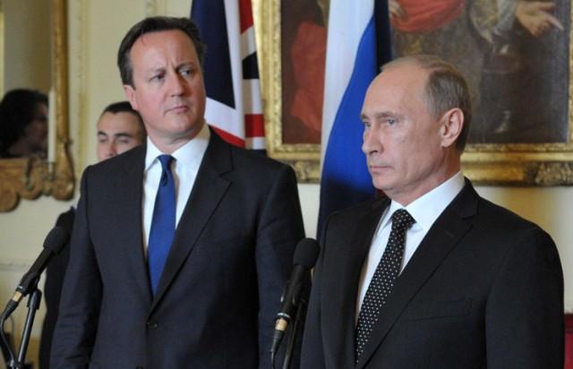 Встреча Путина и Кэмерона во Франции началась с ..