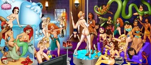 принцессы диснея картинки секс