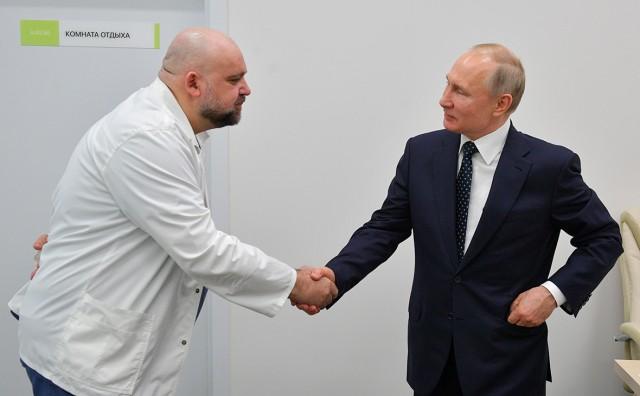 Песков заявил об отсутствии у Путина коронавируса после беседы с Проценко