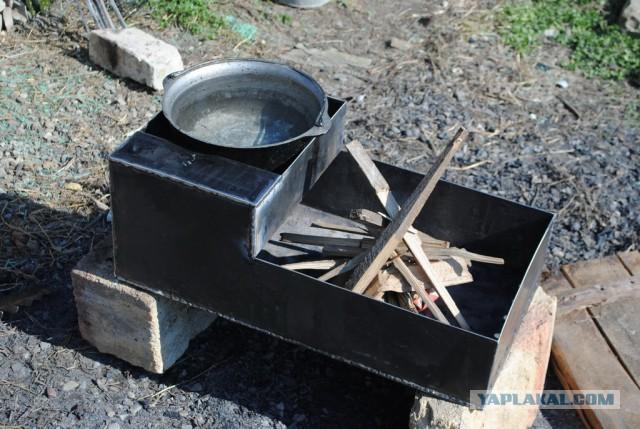 Как сделать мангал из металла своими руками фото