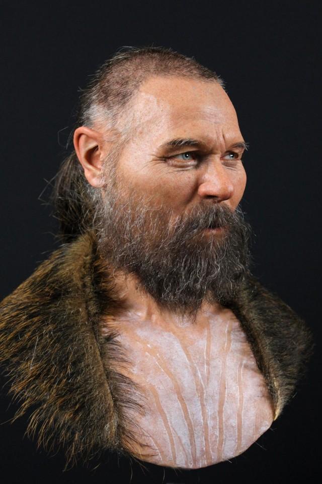 Учёные нашли останки мужчины, жившего 8000 лет назад на территории Швеции, и восстановили его внешность