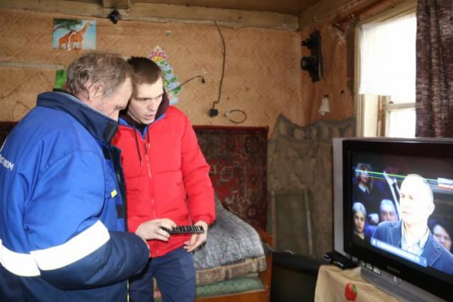 Единственному жителю обезлюдевшей деревни в Тверской области подключили цифровое ТВ