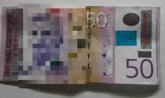 Афера с купюрой в 50 евро