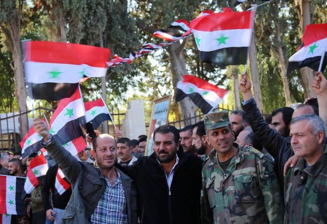 Число добровольцев в Сирии растет