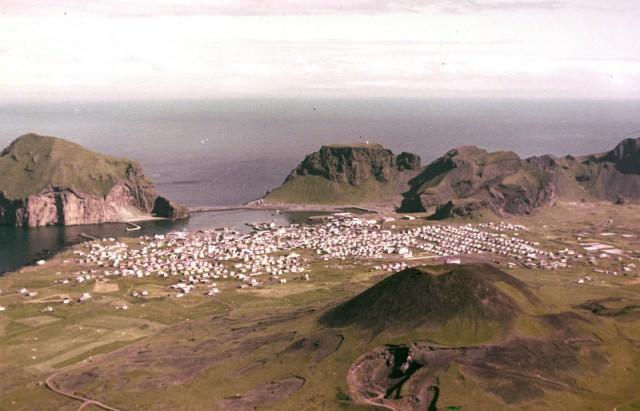 1973. Извержение вулкана Эльдфедль