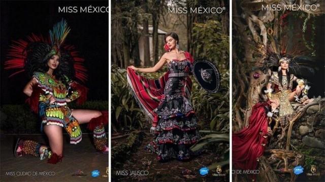 Участницы конкурса «Мисс Мексика» показали национальные костюмы