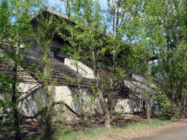 Зона отчуждения, Чернобыль, май 2009г, фото