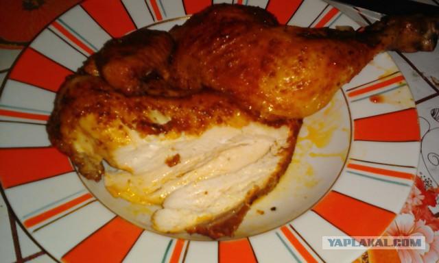 Как сделать чтобы курица была хрустящей 500