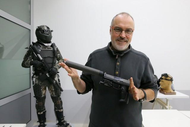 Как будет выглядеть новый пистолет для армии: эксклюзивные фото