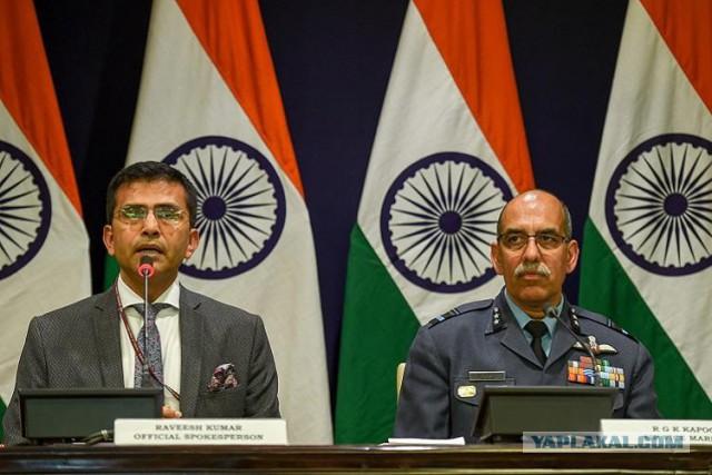 Истребитель пакистанских ВВС Ф-16 был сбит самолетом МиГ-21 индийской армии