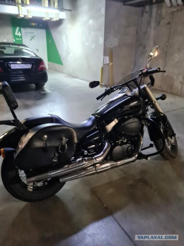 Продам мотоцикл Honda Shadow 2012 года