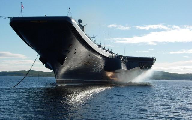 Авианосная группа ВМФ России вошла в Ла-Манш