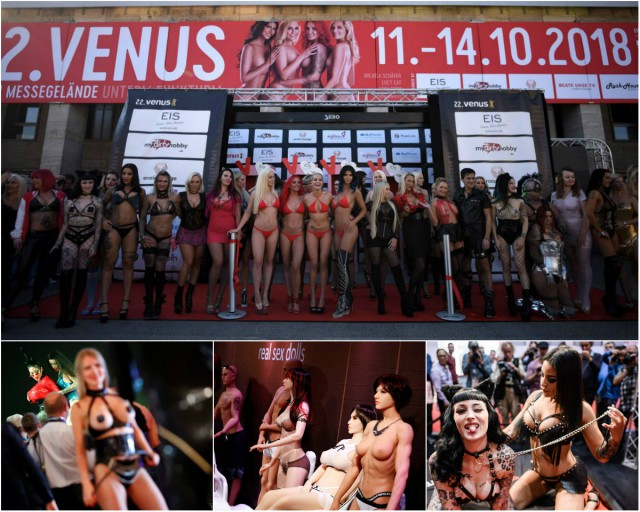 Международная выставка эротики в Берлине