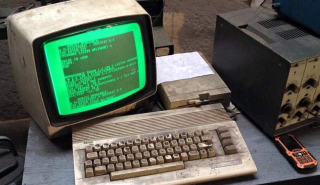 Польская автомастерская 25 лет использует компьютер Commodore 64 для работы