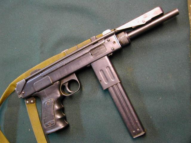 "Пистолет-пулемёт ""Борз"""