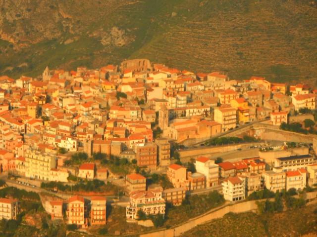 Сицилия, вид сверху