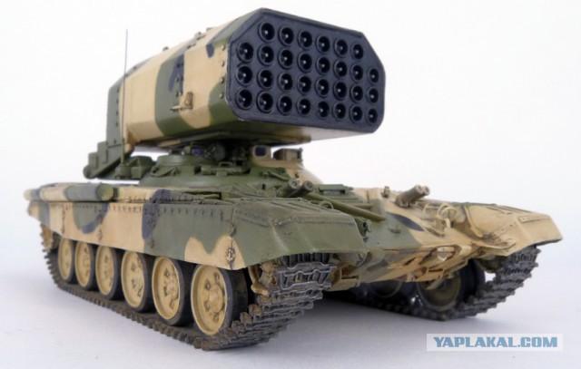 Военные в Сирии молятся на российский огнемёт ТОС-1А