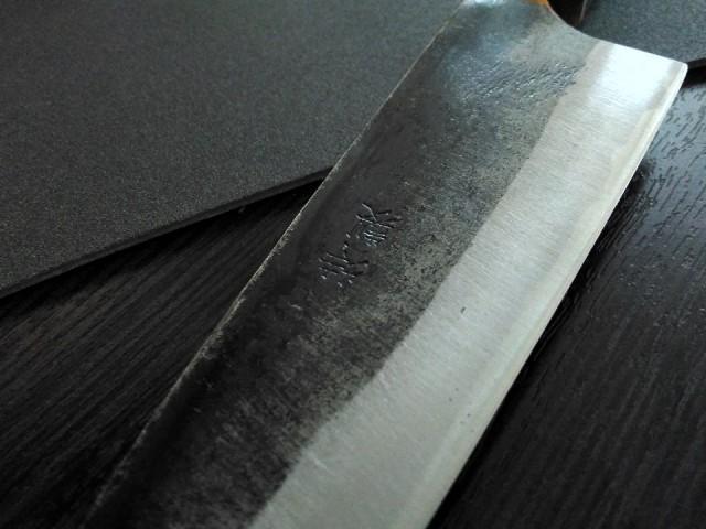 Собираем японский кухонный нож