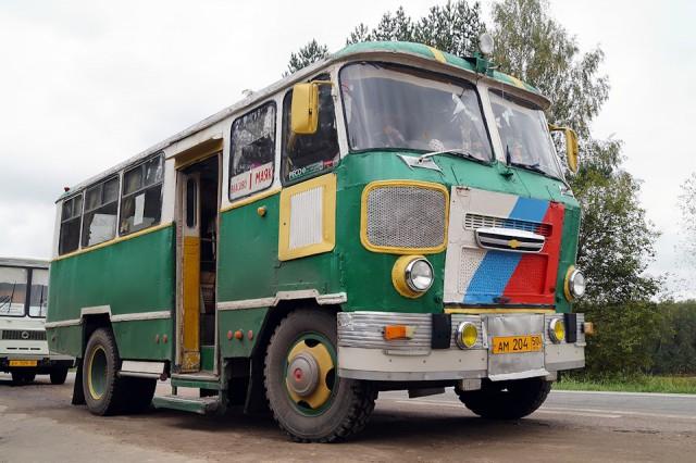"""Первый парень на деревне: Автобус """"Кубань"""""""