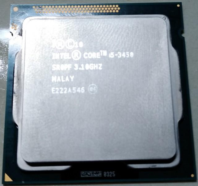 Продам процессор i5-3450. Москва
