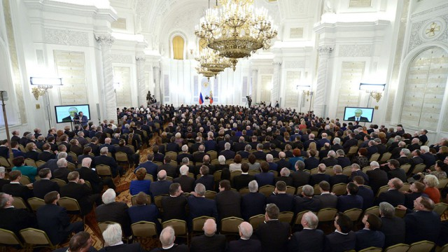 «Люди устали от ракет» - Кремль ищет позитивную повестку для послания Путина Федеральному собранию