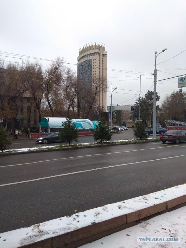 Алматы, Узбекистан, ноябрь 2017 года