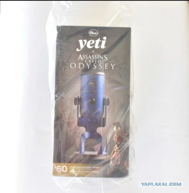 Продам микрофон Blue Microphones Yeti