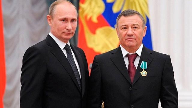 Путин присвоил Ротенбергу звание Героя труда за строительство Крымского моста