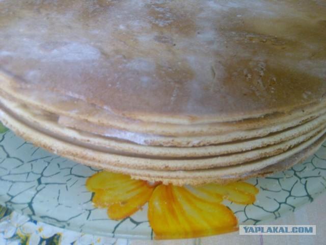 Торт рыжик со сметаной рецепт пошагово 71