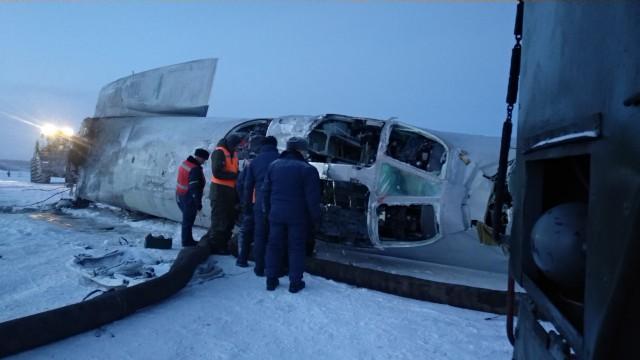 Подробности катастрофы бомбардировщика Ту-22М3 в Оленегорске