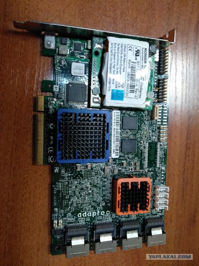 Продам Контроллер SAS Adaptec ASR-31605 SGL