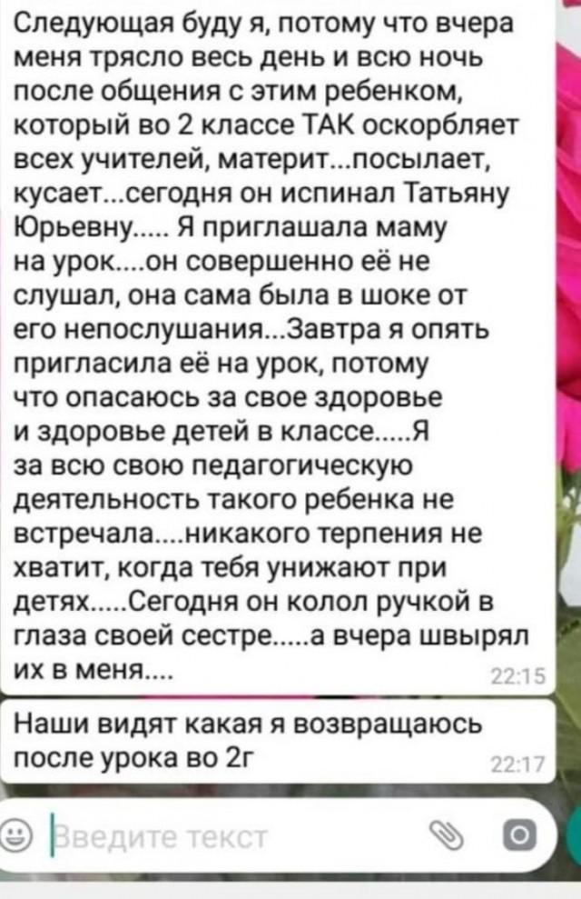 В школе 37 Комсомольска-на-Амуре учитель начальных классов избила ученика.