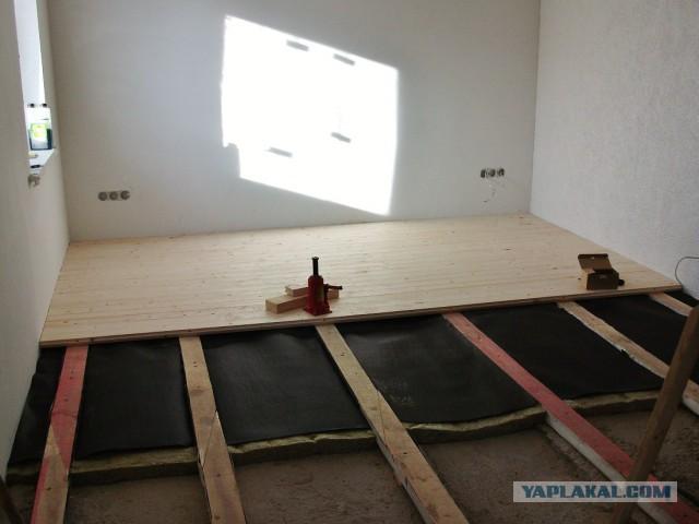 Нескрипучий деревянный пол