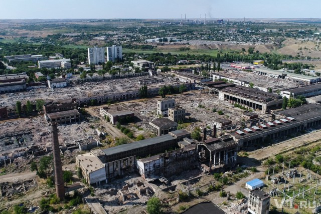 Тракторный завод Волгограда разбирают на металлолом