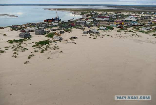 Русское Макондо. Поселение-призрак на Белом море уходит в пески
