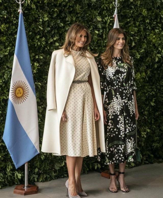 Первая леди США и первая леди Аргентины