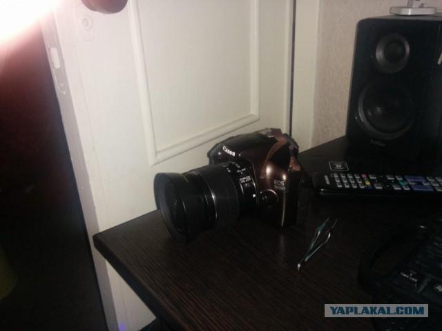 Продам фотик Canon 1100 d