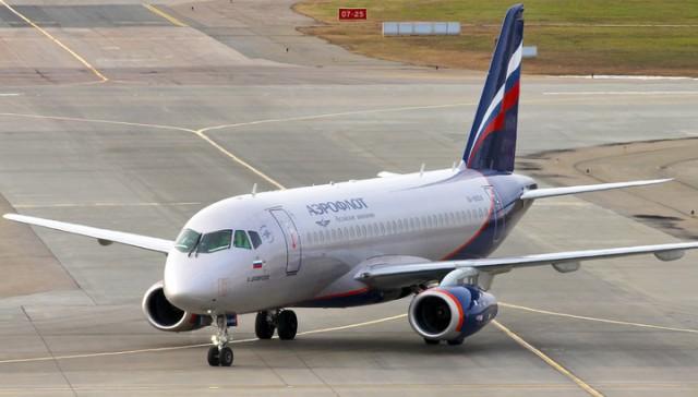 В Ульяновске у SSJ-100 при взлете отказала гидросистема